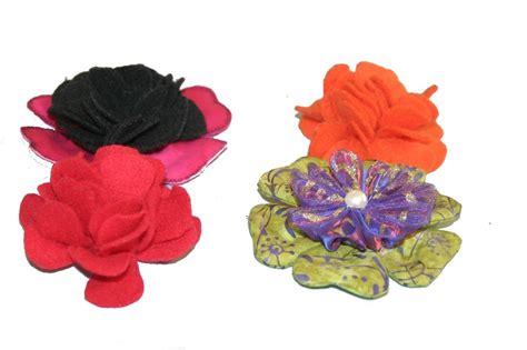 paper kanzashi flower tutorial jinky s crafts designs fabric flowers kanzashi flower