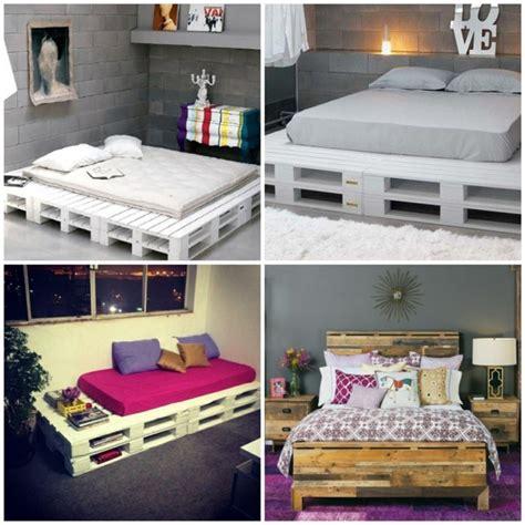 pallet bedroom ideas 64 bedroom ideas for furniture made of pallets fresh design pedia