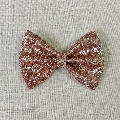 rose gold glitter bow tie gold glitter bow tie gold glitter hair bow glitter