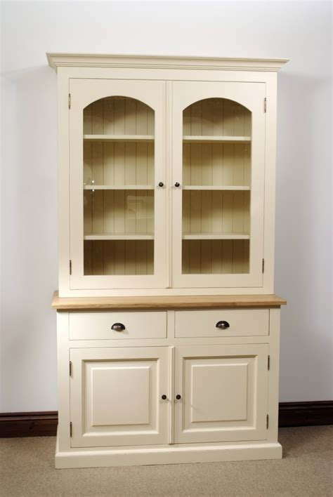 Pine Dresser With Glass Doors by Pine Bookcase Dresser Display Cabinet Closed Glass
