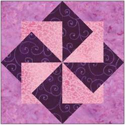 origami pinwheel quilt block pattern by feverishquilter