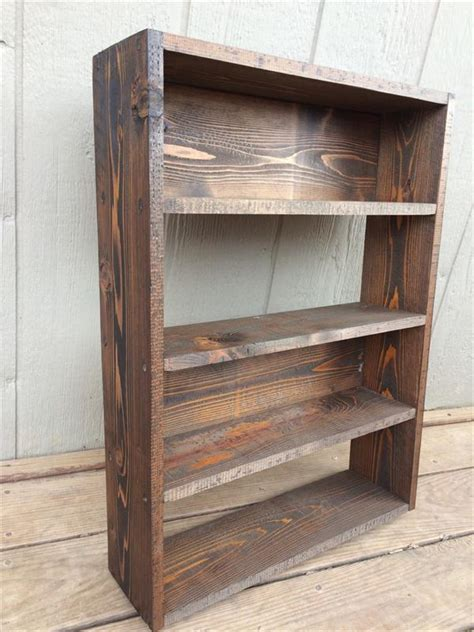 diy pallet shelves storage unit and bookcase pallet