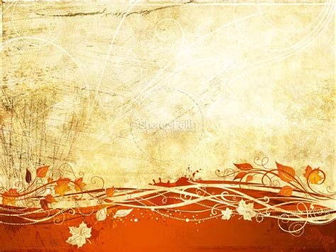 Fall Powerpoint Presentation Fall Thanksgiving Powerpoints Autumn Powerpoint Background