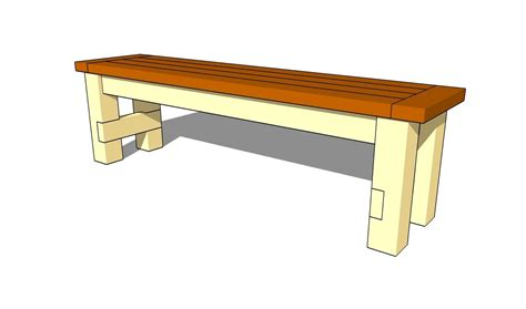 download how to build a bench seat out of wood plans free
