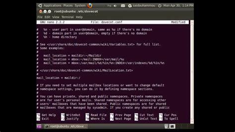 configure ubuntu mail server how to configure mail server on ubuntu youtube