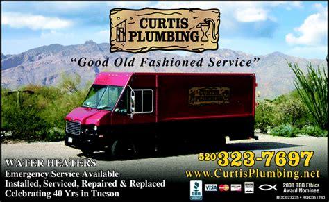 curtis plumbing tucson az 85714 2134 yellowbook