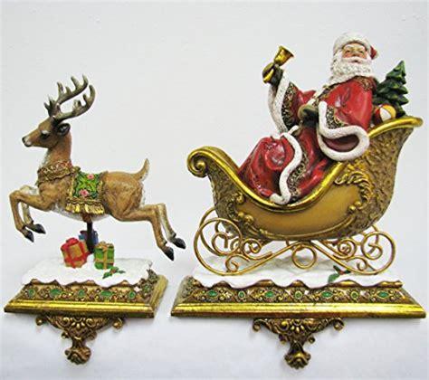santa and reindeer holders santa and reindeer holders decore