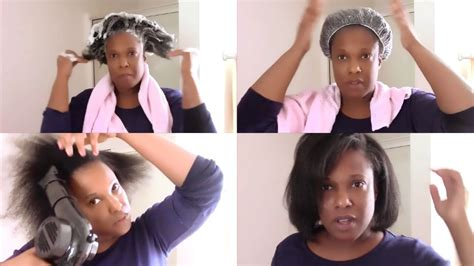 how to how i wash blow dry and braid my natural 4b 4c wash blow dry flat iron for 4c natural hair ft novex