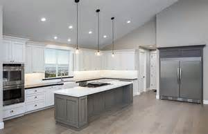 Large Kitchen Lights 30 Gray And White Kitchen Ideas Designing Idea