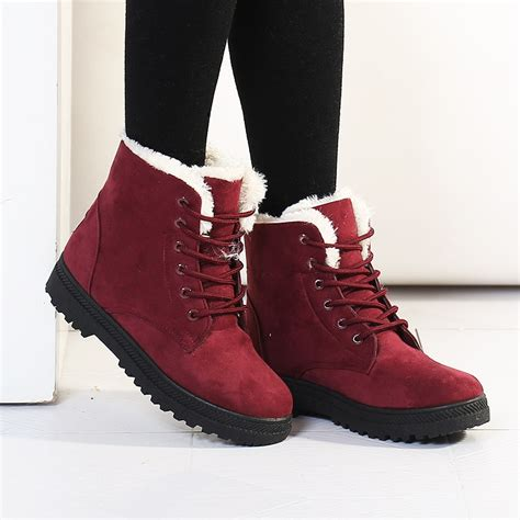 boat shoes for winter short snow boots women boot ri