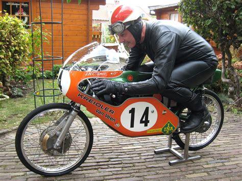 Motorrad Honda 50ccm Rennmaschine by 50cc Kreidler Veen Skitrakor