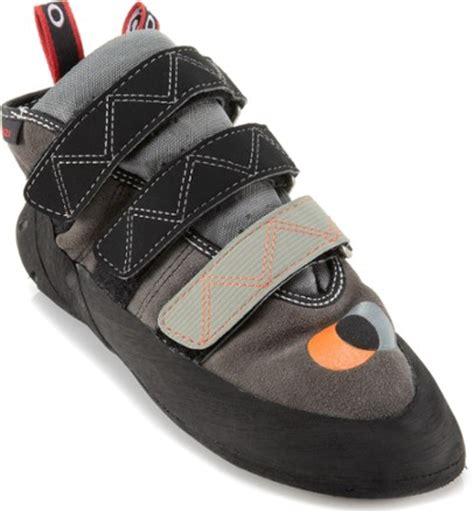 high top rock climbing shoes five ten anasazi hi top rock shoes rei