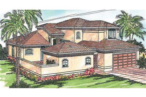 Mediterranean House Plan by Mediterranean House Plans Coronado 11 029 Associated