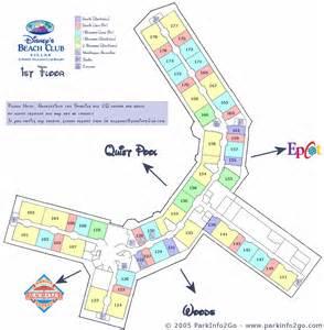 Disney Beach Club Floor Plan Disney Vacation Club Beach Club Villas Floorplan 1st