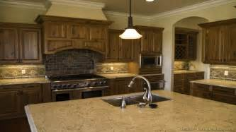 kitchens with floors walnut stain kitchen