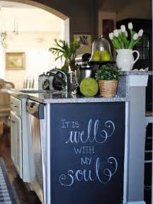 Chalkboard Paint Kitchen Ideas How To Paint A Kitchen Chalkboard Wall How Tos Diy