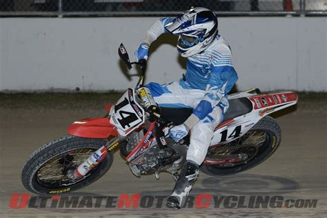 daytona track results 2014 daytona ama pro flat track thursday results