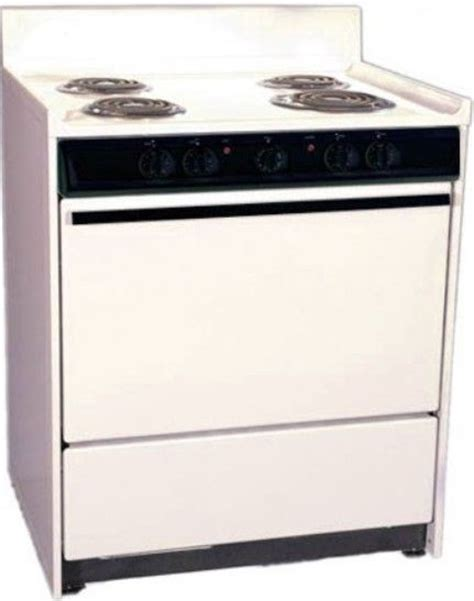 Broiler Drawer Oven by Summit Sem210 Freestanding Electric Range With Manual