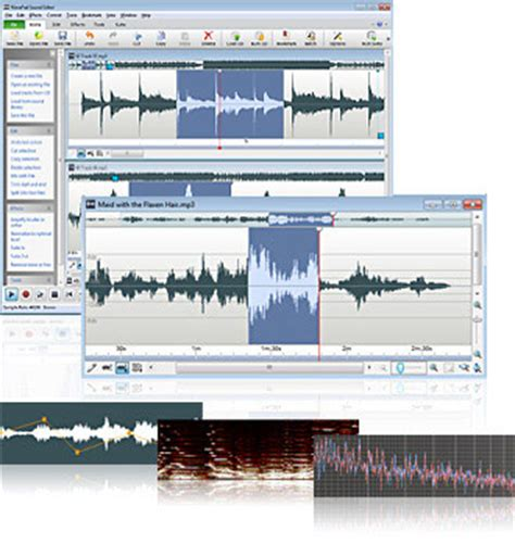 audio editing software. sound, music, voice & mp3 editor
