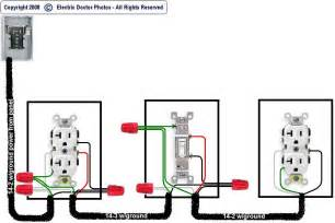 wiring diagrams for light switch and outlet i want to wire the following diagram from source to switched receptacle to switch to