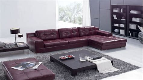 leather sofa living room ideas contemporary sofas living room ideas with burgundy