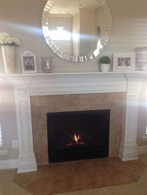 mirror fireplace our home the abbyson living mirror 35 quot fit