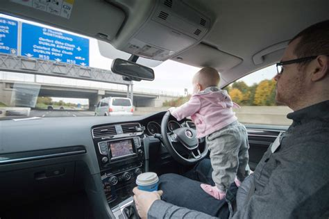 Kaos Dads Auto Shop photoshops baby into dangerous situations to freak out