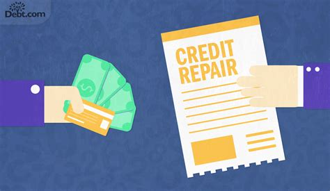 how much do credit repair companies charge debt