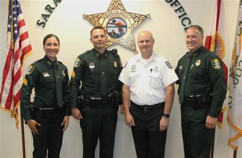 Sarasota County Sheriff Office by Sarasota County Sheriff Tom Promotes Three Employees