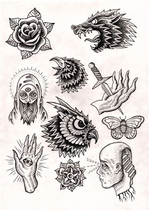 tattoo old school pdf old school tattoo flash pdf
