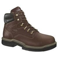 browning ranch waterproof pull on work boots brown