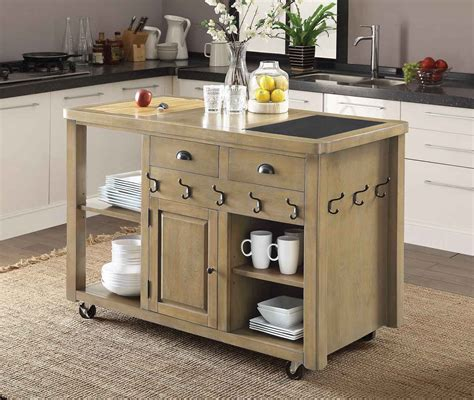 small kitchen island cart 28 images bamboo newhall kitchen island world market create a coaster 102286 kitchen cart weathered natural 102286 at