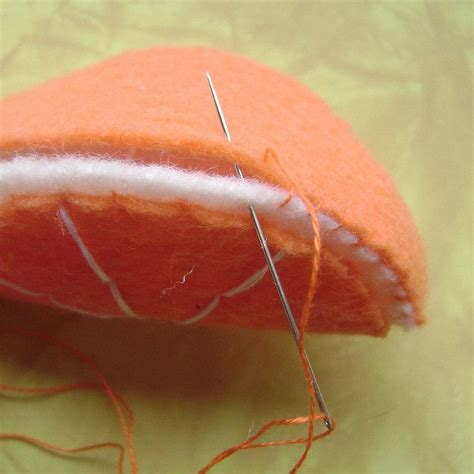 felt orange pattern 17 best images about felt food and toys on pinterest