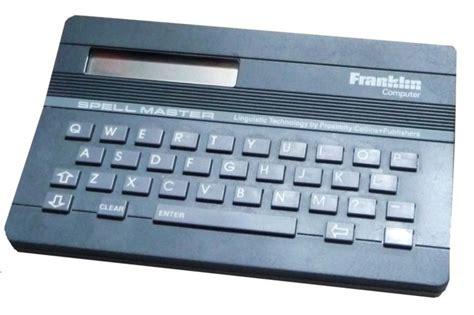 franklin scrabble master vintage spellmaster franklin computer qe 103 ebay