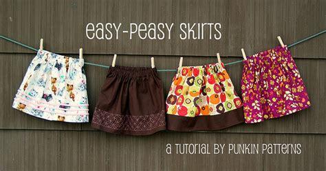 printable toddler skirt pattern easy peasy skirts punkin patterns