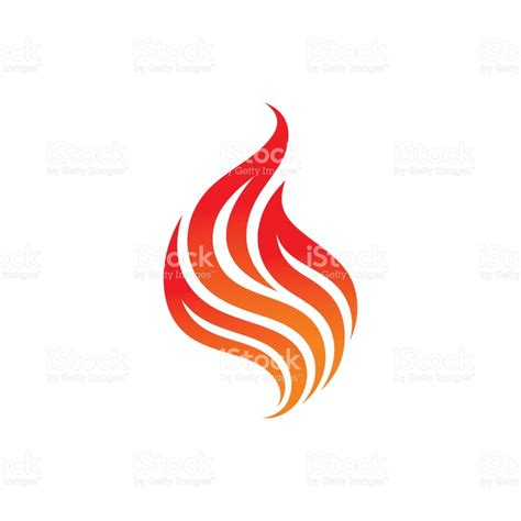 magic tattoo logo vector fire vector template logo concept illustration flame