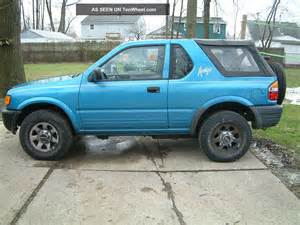1998 Isuzu Amigo 1998 Isuzu Amigo With Rebuilt Motor