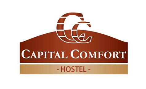 Capital Comfort Hostel Logo Graphic Design