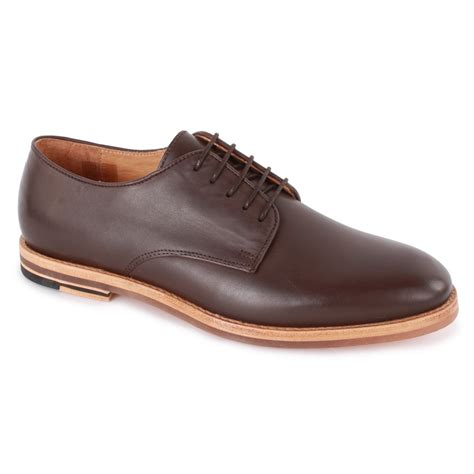 by hudson mens shoes h by hudson hadstone mens brogue shoes in brown