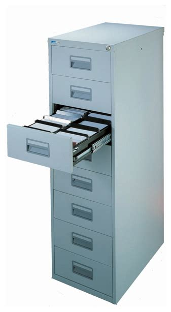 Silverline Multi Drawer Cabinets by Silverline Media Card Index Cabinet 8 Drawer Choice Of
