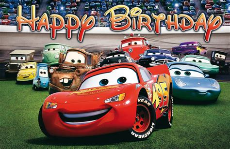 disney cars happy birthday banner printable disney cars birthday banner