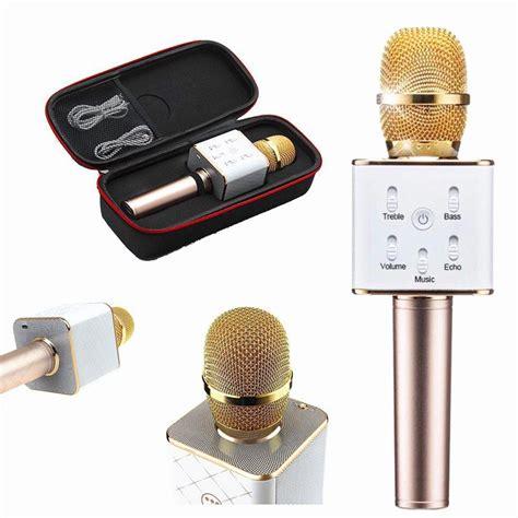 Mic Karoke Tuxun Q7 Bluetooth Wireless Microphone Limited mic k 232 m loa tuxun q7 ch 237 nh h 227 ng h 225 t karaoke cực hay