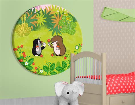 Wandtattoo Kinderzimmer Kleiner Maulwurf by Leinwand Bild Bilder Kreis Der Kleine Maulwurf Erdbeeren