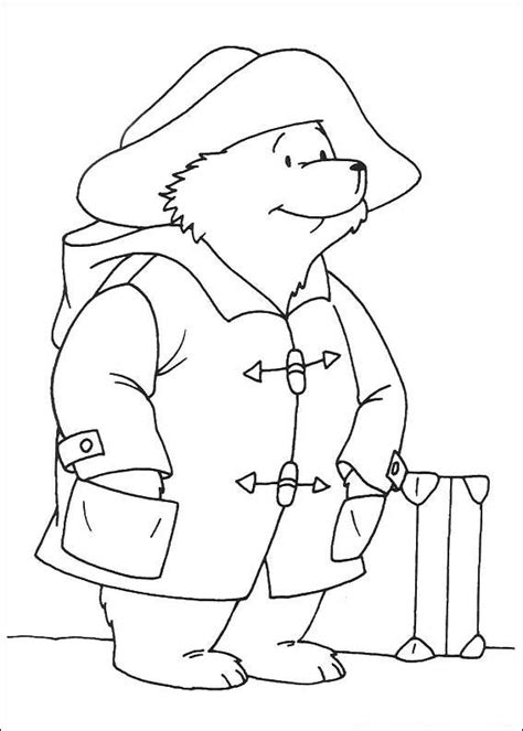 kids n fun com coloring page paddington bear paddington bear