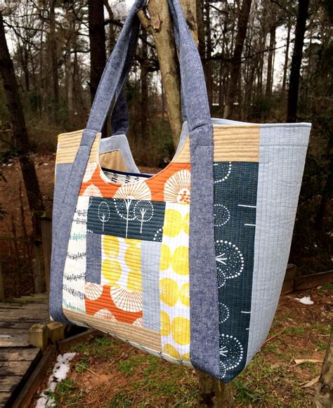 renegade tote bag pattern poolside tote pattern by anna graham of noodlehead