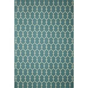 Indoor Outdoor Rug Target Indoor Outdoor Fretwork Accent Rug Blue 4 X5 6 Quot Target