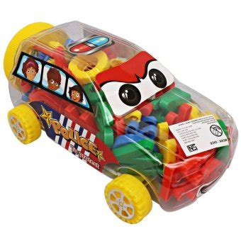 Abc Balok Kayu Wooden Block momo toys blocks car multi function 69 pcs hc006k2 mainan