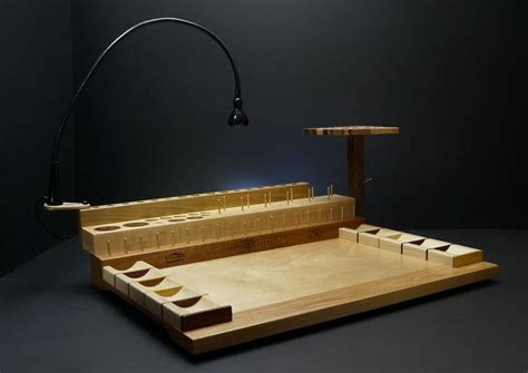 fly tying bench fly tying desk fly tying pinterest
