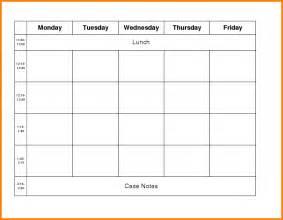 week work schedule template week work schedule template free work schedule template2