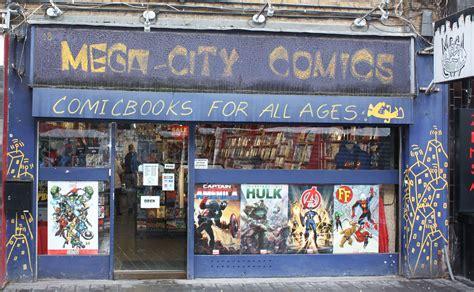Comic Book Store Comic Book Store Displaced Beachbums